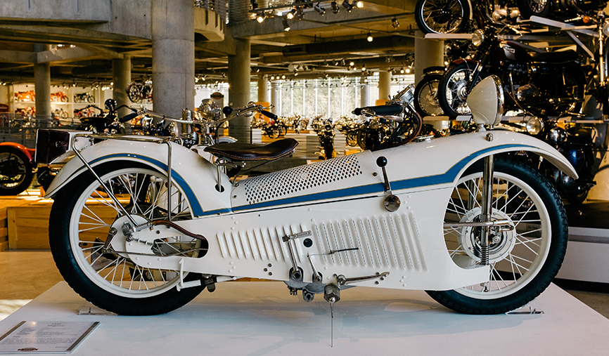 Oil Change And Tire Rotation >> A Look Inside The World's Largest Motorcycle Collection ...