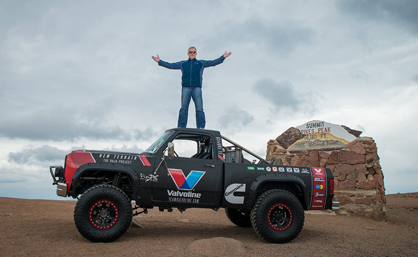 Bid For Baja Begins At Pike S Peak Valvoline Mins Team
