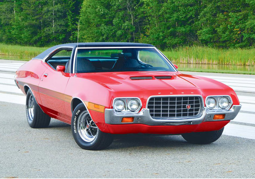 Ford Gran Torino Clint Eastwood >> Cars of '72: 1972 Ford Gran Torino | Team Valvoline