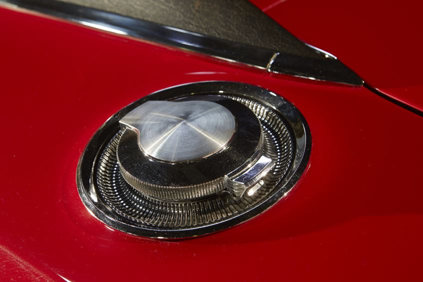Up Close Red 1968 Dodge Charger