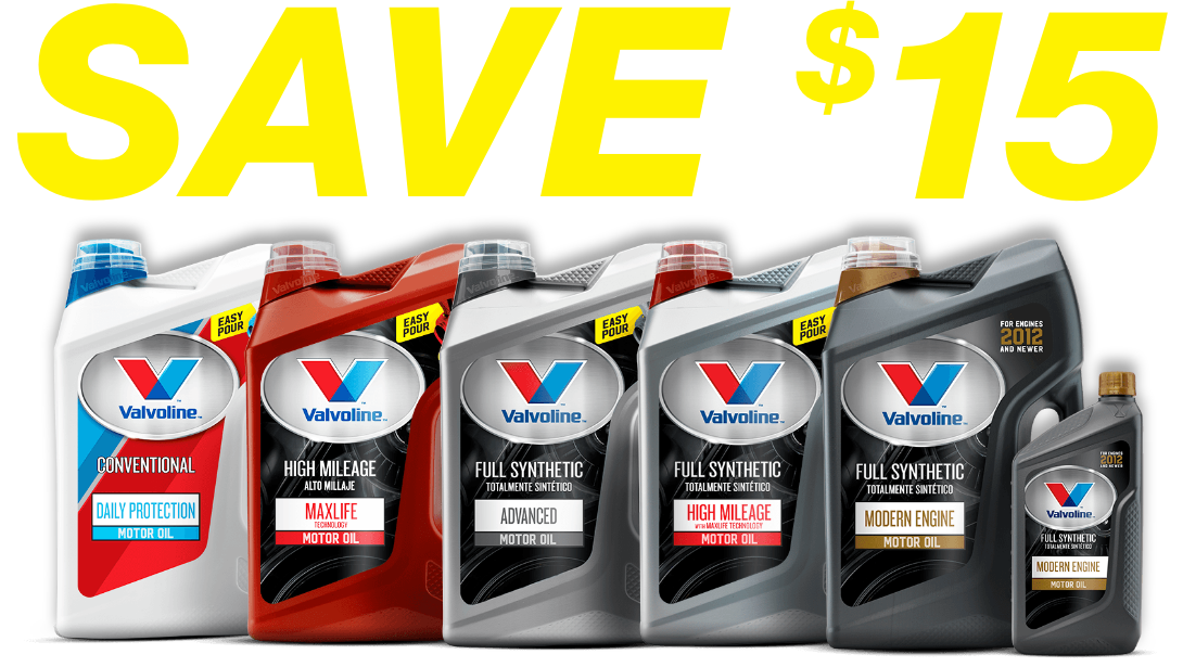 Get your $10 Valvoline Rebate